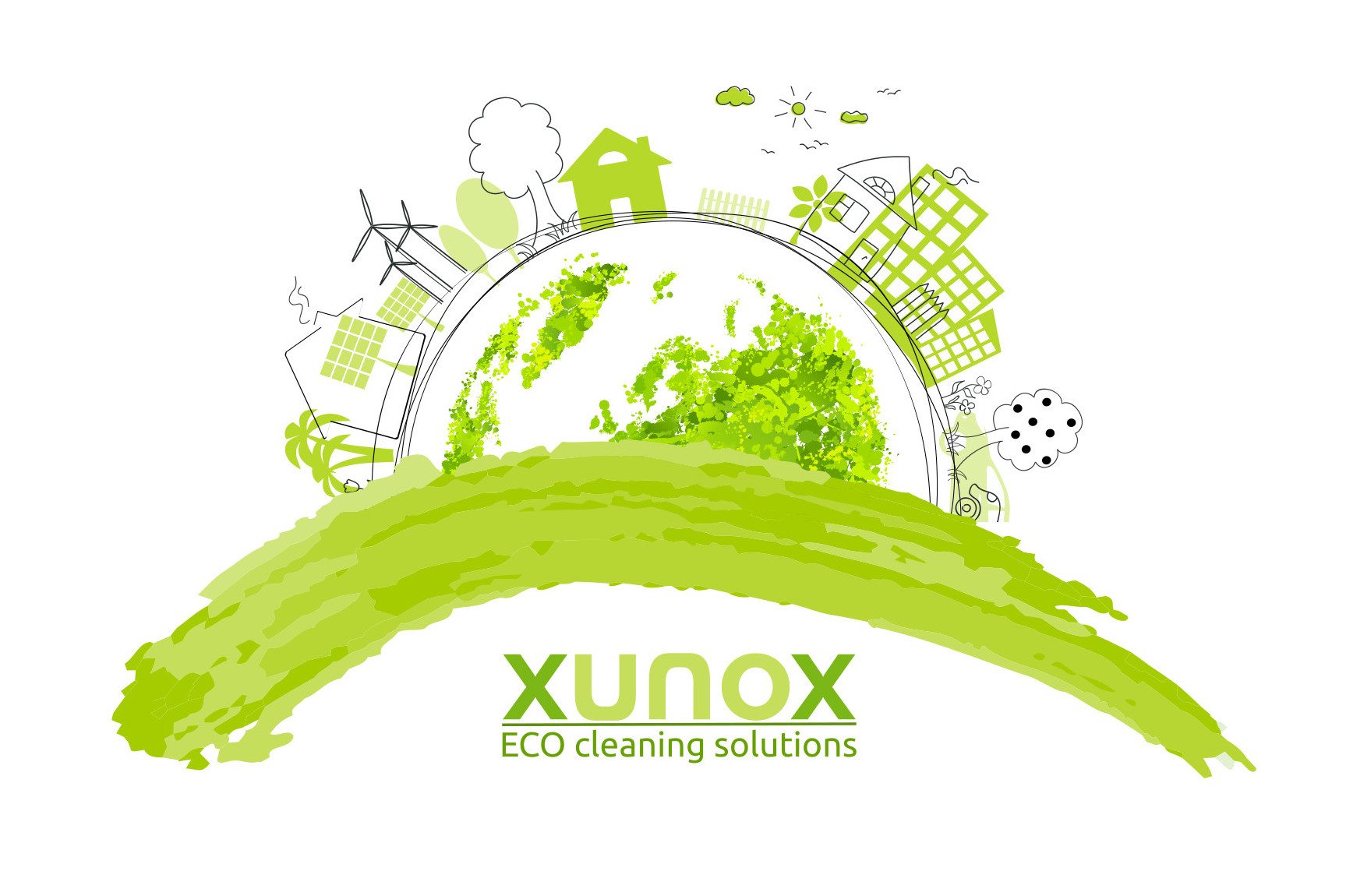 Xunox környezetbarát tisztítószerek az ipar és a háztartás számára